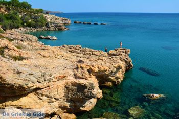 Strand Megalo Fanaraki bij Moudros Limnos (Lemnos)   Foto 46 - Foto van De Griekse Gids