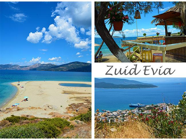 Mooie stranden bij Marmari op Evia