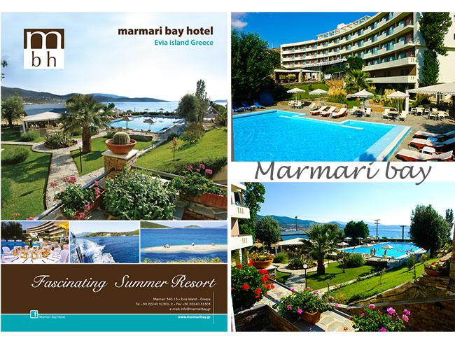 Het hotel Marmari Bay