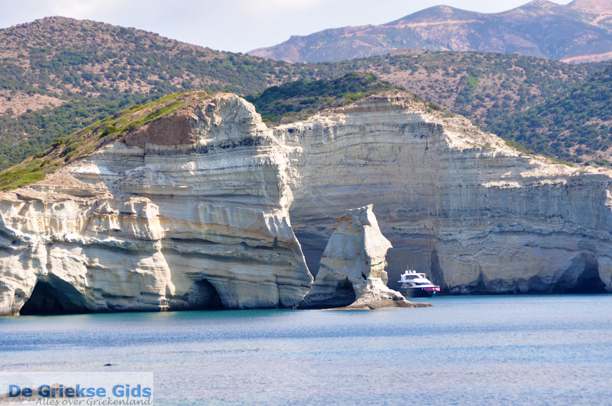 foto Kleftiko Milos   Cycladen Griekenland   Foto 2