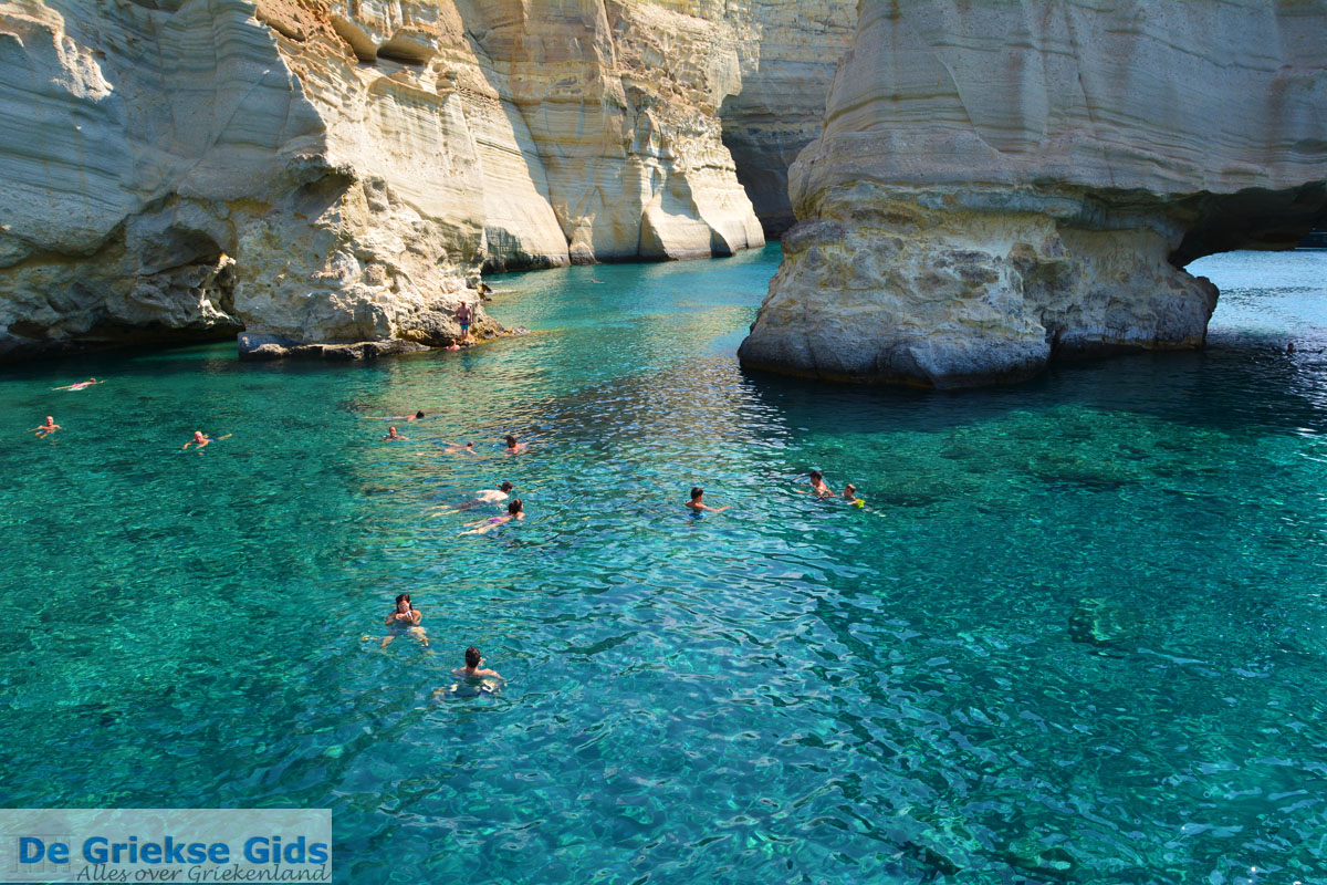 foto Kleftiko Milos   Cycladen Griekenland   Foto 155