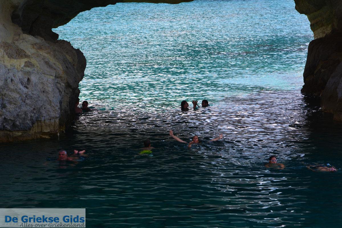 foto Kleftiko Milos   Cycladen Griekenland   Foto 160
