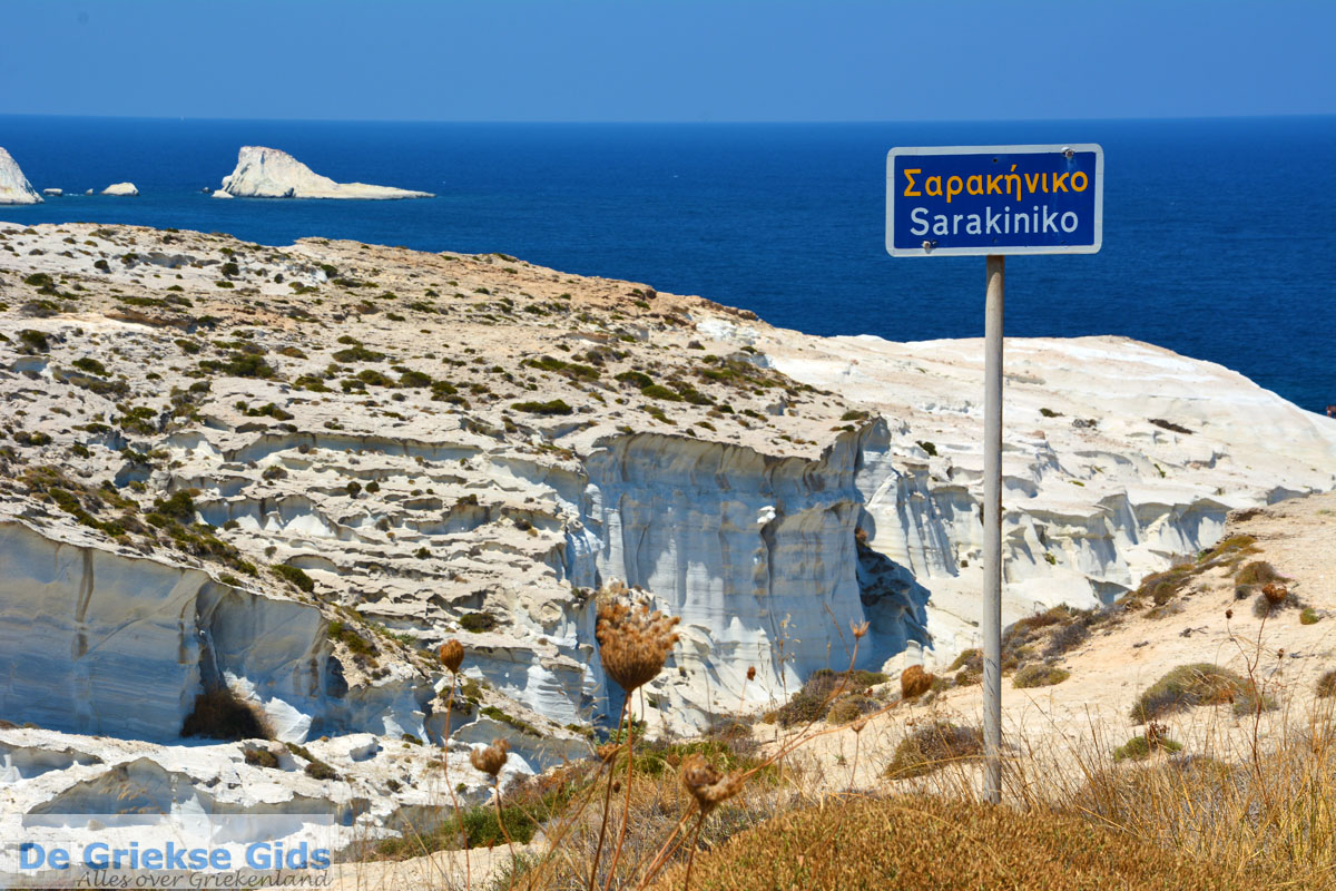 foto Sarakiniko Milos   Cycladen Griekenland   Foto 206