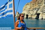 Kleftiko Milos | Cycladen Griekenland | Foto 146 - Foto van De Griekse Gids