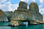Kleftiko Milos | Cycladen Griekenland | Foto 190 - Foto van De Griekse Gids