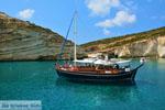 Kleftiko Milos   Cycladen Griekenland   Foto 191 - Foto van De Griekse Gids