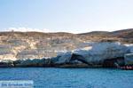 Sarakiniko Milos | Cycladen Griekenland | Foto 44 - Foto van De Griekse Gids
