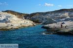 Sarakiniko Milos | Cycladen Griekenland | Foto 72 - Foto van De Griekse Gids