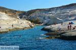 Sarakiniko Milos | Cycladen Griekenland | Foto 73 - Foto van De Griekse Gids