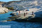 Sarakiniko Milos   Cycladen Griekenland   Foto 77 - Foto van De Griekse Gids