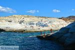 Sarakiniko Milos | Cycladen Griekenland | Foto 80 - Foto van De Griekse Gids