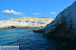 Sarakiniko Milos | Cycladen Griekenland | Foto 82 - Foto van De Griekse Gids