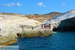 Sarakiniko Milos | Cycladen Griekenland | Foto 90 - Foto van De Griekse Gids
