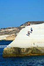 Sarakiniko Milos | Cycladen Griekenland | Foto 95 - Foto van De Griekse Gids
