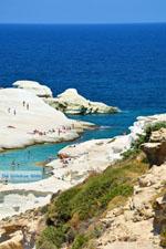 Sarakiniko Milos | Cycladen Griekenland | Foto 104 - Foto van De Griekse Gids