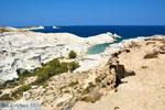 Sarakiniko Milos | Cycladen Griekenland | Foto 108 - Foto van De Griekse Gids