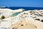 Sarakiniko Milos | Cycladen Griekenland | Foto 112 - Foto van De Griekse Gids