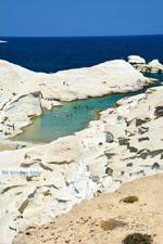 Sarakiniko Milos | Cycladen Griekenland | Foto 113 - Foto van De Griekse Gids