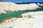 Sarakiniko Milos | Cycladen Griekenland | Foto 126 - Foto van De Griekse Gids