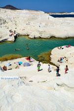 Sarakiniko Milos | Cycladen Griekenland | Foto 130 - Foto van De Griekse Gids