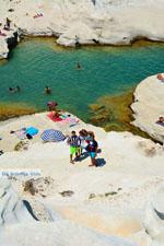 Sarakiniko Milos | Cycladen Griekenland | Foto 132 - Foto van De Griekse Gids