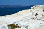 Sarakiniko Milos | Cycladen Griekenland | Foto 138 - Foto van De Griekse Gids