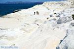 Sarakiniko Milos | Cycladen Griekenland | Foto 147 - Foto van De Griekse Gids