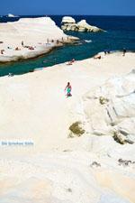 Sarakiniko Milos | Cycladen Griekenland | Foto 149 - Foto van De Griekse Gids