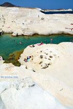 Sarakiniko Milos | Cycladen Griekenland | Foto 151 - Foto van De Griekse Gids