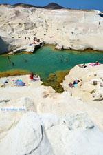 Sarakiniko Milos | Cycladen Griekenland | Foto 152 - Foto van De Griekse Gids