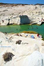 Sarakiniko Milos | Cycladen Griekenland | Foto 153 - Foto van De Griekse Gids