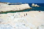 Sarakiniko Milos | Cycladen Griekenland | Foto 156 - Foto van De Griekse Gids