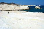 Sarakiniko Milos | Cycladen Griekenland | Foto 163 - Foto van De Griekse Gids