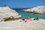 Sarakiniko Milos | Cycladen Griekenland | Foto 167 - Foto van De Griekse Gids