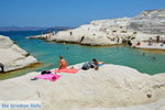 Sarakiniko Milos | Cycladen Griekenland | Foto 168 - Foto van De Griekse Gids