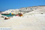 Sarakiniko Milos | Cycladen Griekenland | Foto 173 - Foto van De Griekse Gids