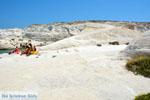 Sarakiniko Milos | Cycladen Griekenland | Foto 174 - Foto van De Griekse Gids