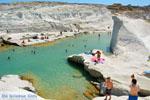 Sarakiniko Milos | Cycladen Griekenland | Foto 175 - Foto van De Griekse Gids
