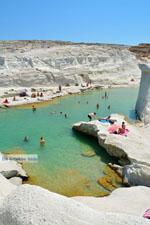 Sarakiniko Milos | Cycladen Griekenland | Foto 177 - Foto van De Griekse Gids