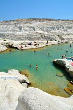 Sarakiniko Milos | Cycladen Griekenland | Foto 178 - Foto van De Griekse Gids