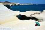 Sarakiniko Milos | Cycladen Griekenland | Foto 182 - Foto van De Griekse Gids