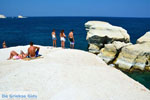 Sarakiniko Milos | Cycladen Griekenland | Foto 186 - Foto van De Griekse Gids