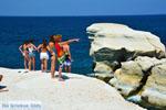 Sarakiniko Milos | Cycladen Griekenland | Foto 187 - Foto van De Griekse Gids