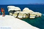 Sarakiniko Milos | Cycladen Griekenland | Foto 188 - Foto van De Griekse Gids