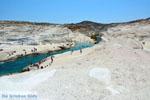 Sarakiniko Milos | Cycladen Griekenland | Foto 192 - Foto van De Griekse Gids