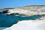 Sarakiniko Milos | Cycladen Griekenland | Foto 194 - Foto van De Griekse Gids