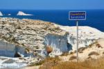 Sarakiniko Milos | Cycladen Griekenland | Foto 206 - Foto van De Griekse Gids