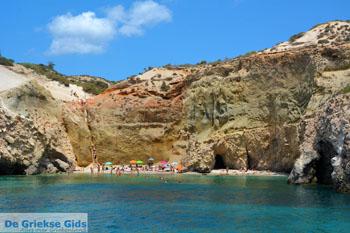 Tsigrado Milos | Cycladen Griekenland | Foto 49 - Foto van De Griekse Gids