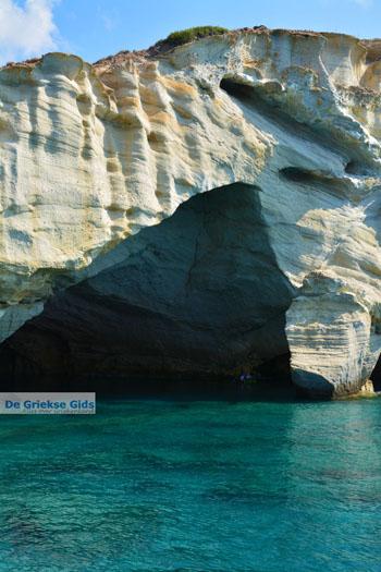 Kleftiko Milos   Cycladen Griekenland   Foto 130 - Foto van De Griekse Gids