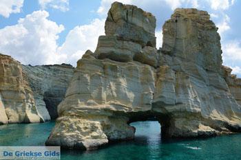Kleftiko Milos | Cycladen Griekenland | Foto 186 - Foto van De Griekse Gids